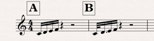 Uneven rhythm copy
