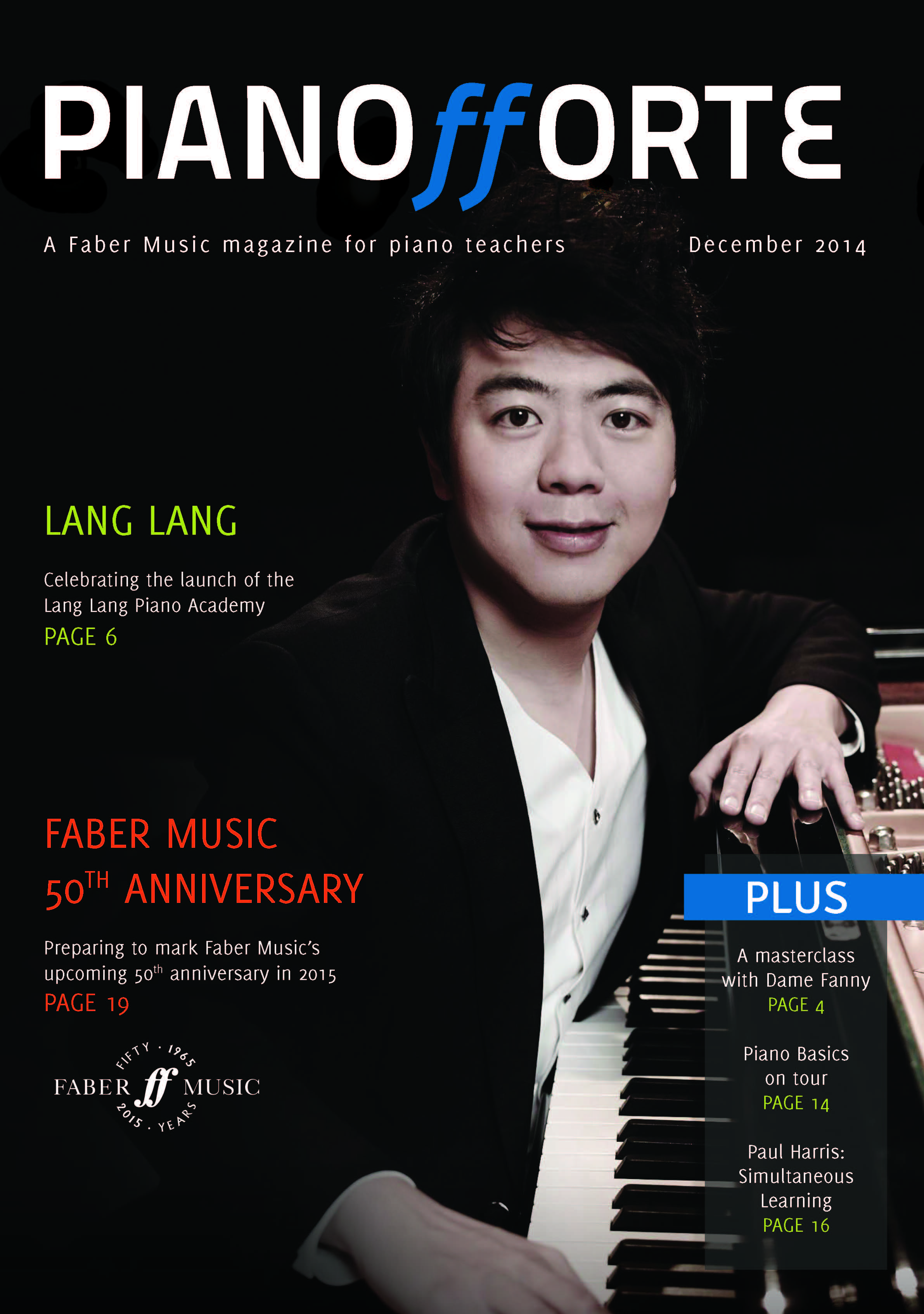 Review in Faber Music's Pianofforte Magazine – Melanie Spanswick