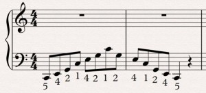 Extra example 1 scales