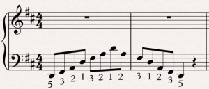 Extra example 2 scales