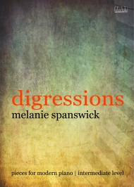 Digressions is a set of 5 original Intermediate piano pieces published by EVC Music