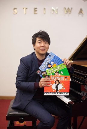 Lang Lang at his recent book launch at Steinway Hall in London: Andy Griffin Photography