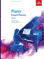 Piano Exam Pieces 2017 & 2018, non-CD edition
