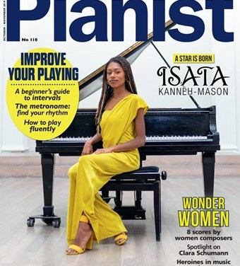 I'm delighted to be a featured composer in the 110th edition of Pianist Magazine, which spotlights women in music and female composers: https://www.pianistmagazine.com/news/issue-110-out-now/